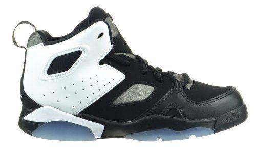 best website 1d6fa fbe08 Jordan Flight Club 91 PS Little Kids Basketball Shoes BlackWhiteFlat Pewter  5554700101 -- Read more
