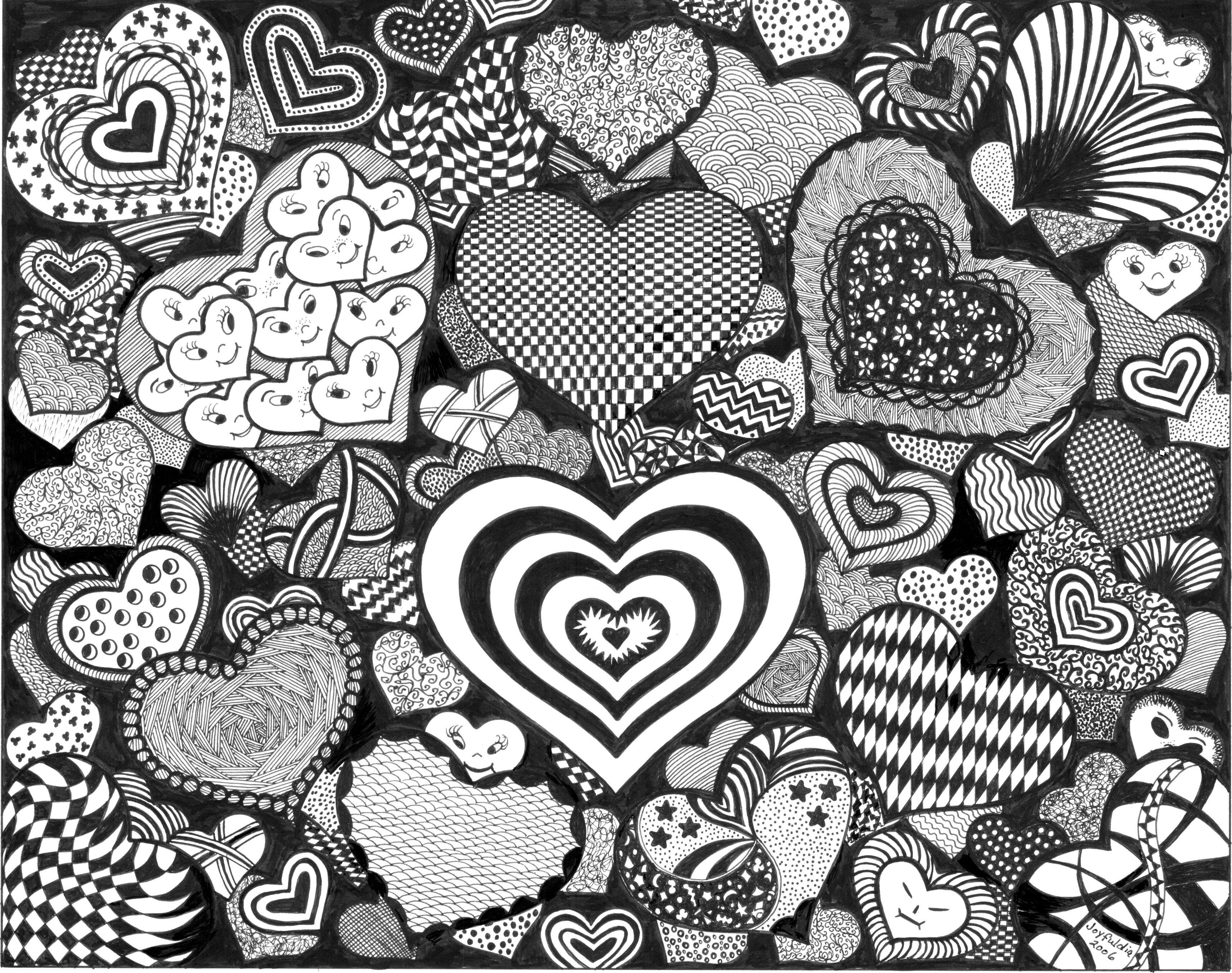 printable adult coloring pages | DOODLE ART COLORING PAGES « Free ...