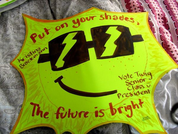 campaign poster ideas for high school elections - Google Search ...
