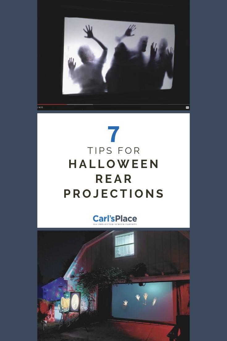 Halloween Digital Projection Decorations Digital