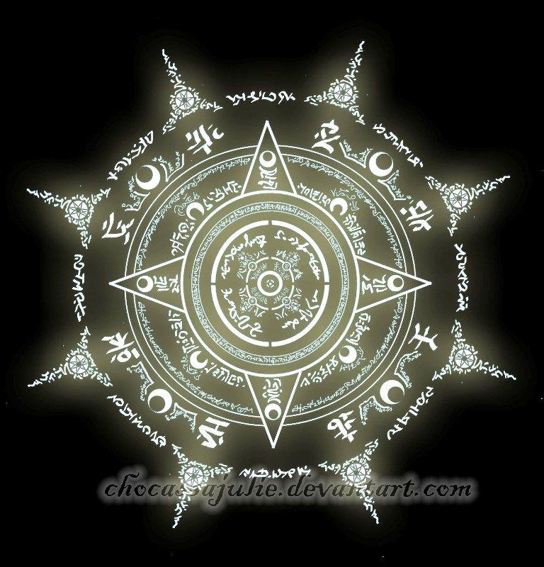 Magic Circle By Chocassajuliedeviantartcom On At Deviantart Kick
