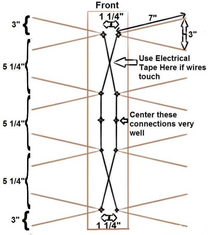 Diy Db4 Antenna Schematic Drawing Diy Tv Antenna Outdoor Tv Antenna Tv Antenna