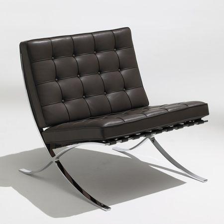 Knoll Studio Barcelona Chair Ludwig Mies Van Der Rohe And Lilly