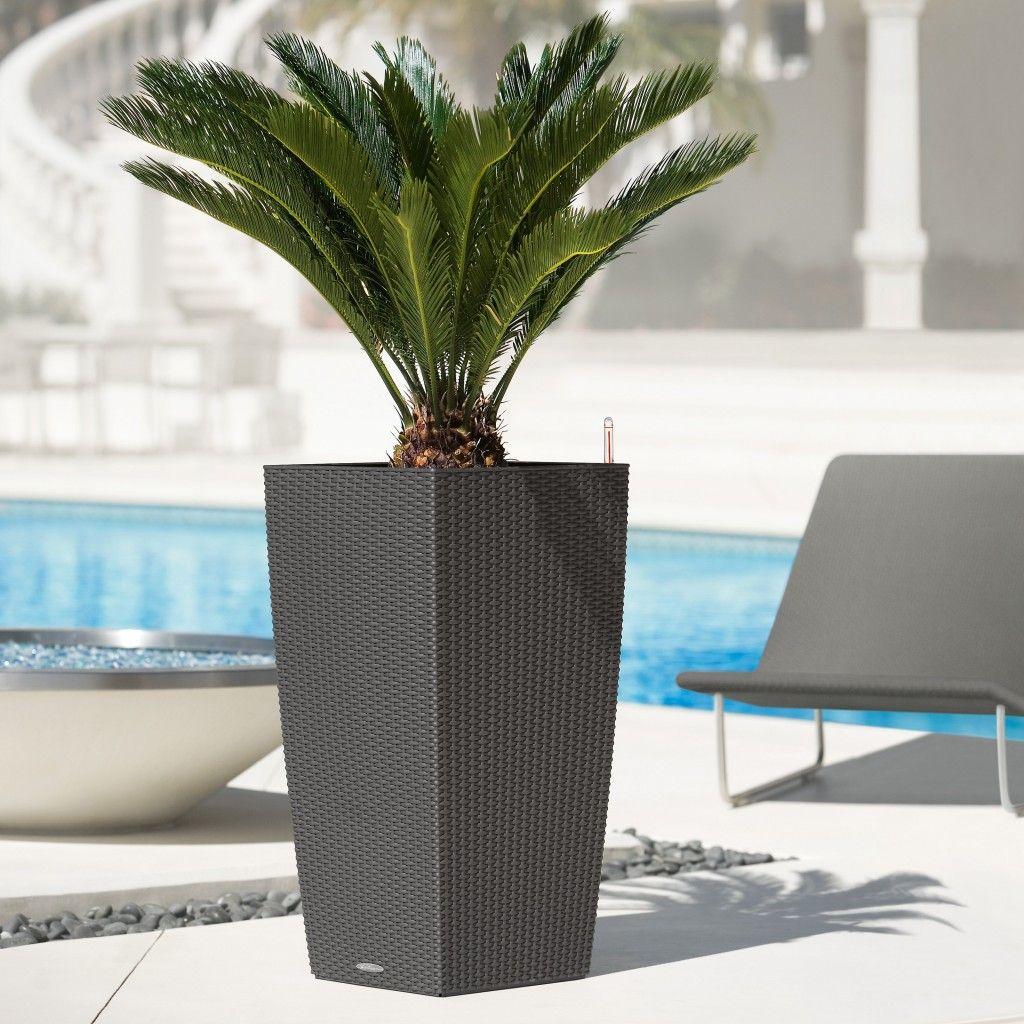 Contemporary planter boxes with classy outdoor planter black boxes design