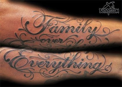 Pin On Family Over Everything Tattoo Quotes