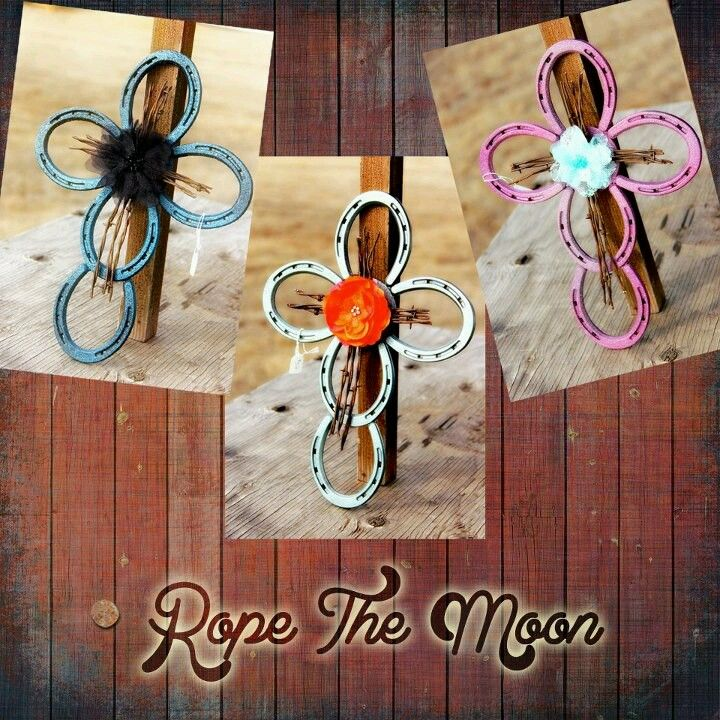 horse shoe cross easy country crafts country crafts pinterest