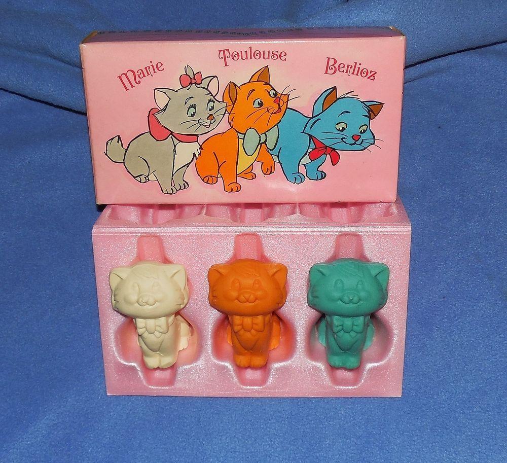 Vintage Avon Aristocat Kittens Soap Trio In Original Box 1971 Adorable Vintage Avon Retro Avon