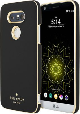 cheaper fbc5f d7856 kate spade new york Wrap Case for LG G5 - Saffiano Black | Products ...