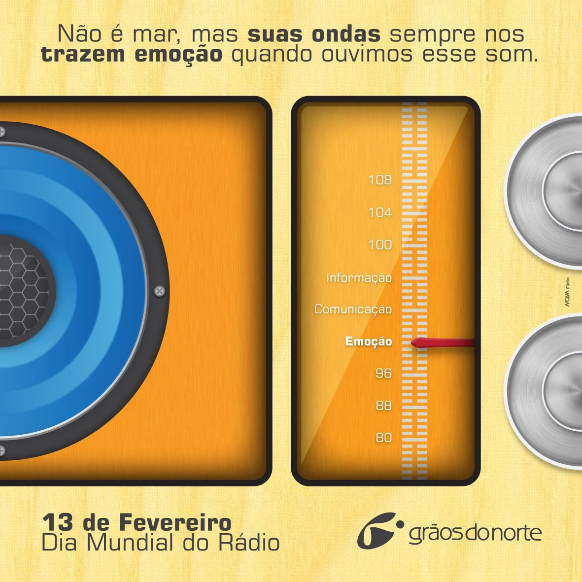 Grãos do Norte - Dia Mundial do Rádio