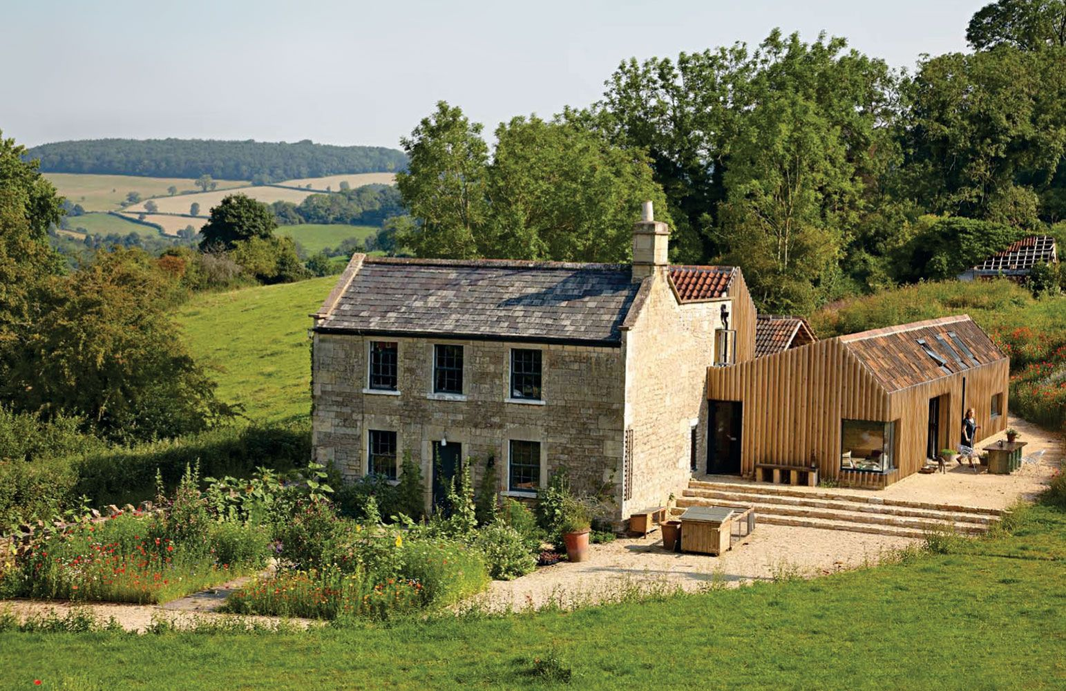 old farm house extension rural style architecture Houseen Pinterest