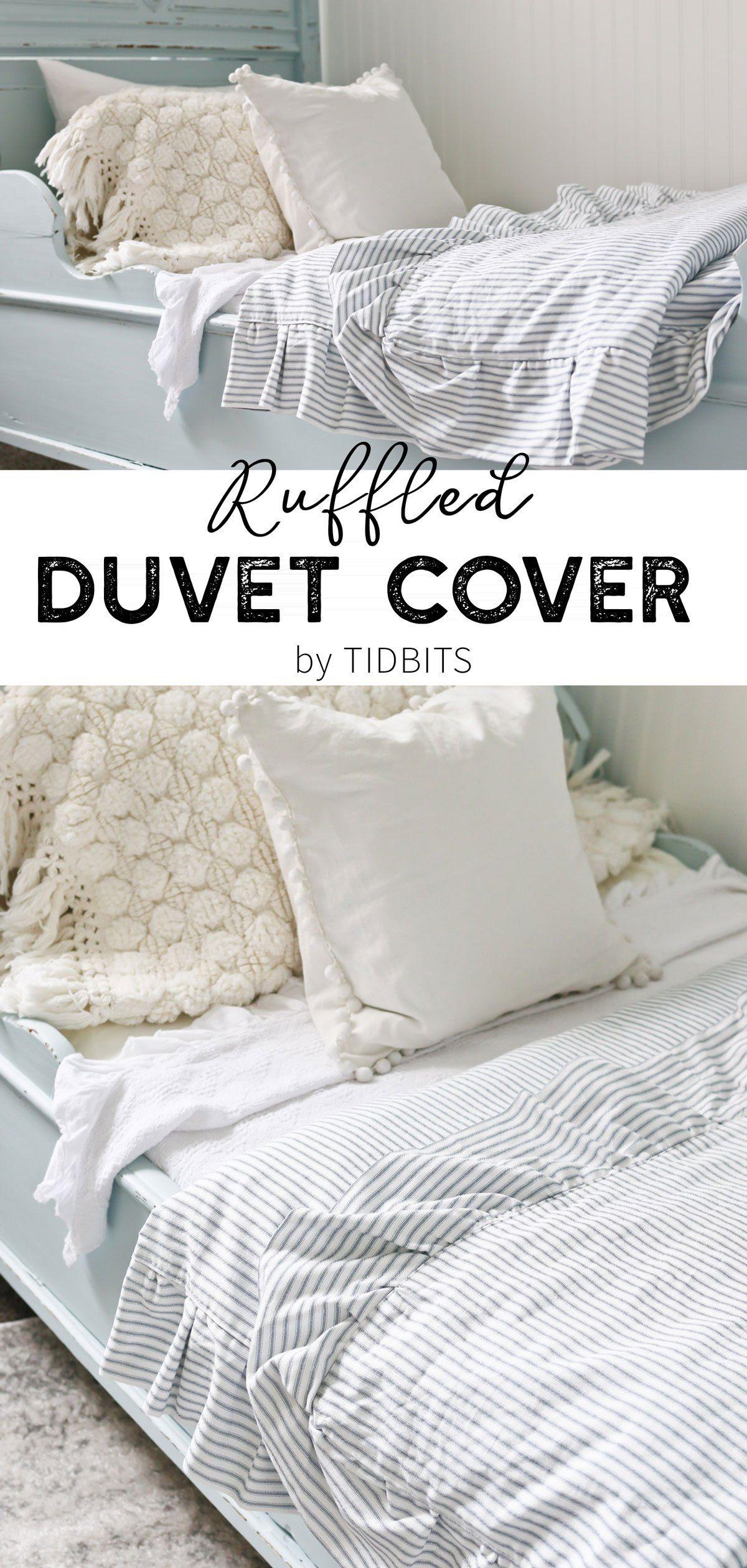 Diy Ruffled Duvet Cover Ruffle Duvet Duvet Covers Best Duvet