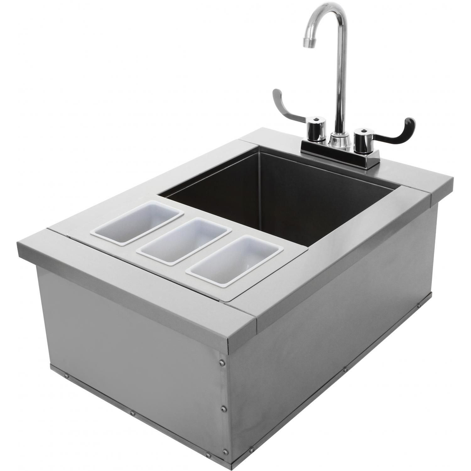 Awesome Outdoor Bar Sink With Faucet Check More At Https Homefurnitureone Com Awesome Outdoor Bar Sink With Faucet