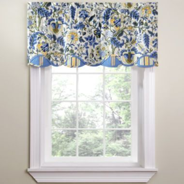 Waverly Imperial Dress Rod Pocket Valance Valance Yellow Kitchen Curtains Yellow Curtains
