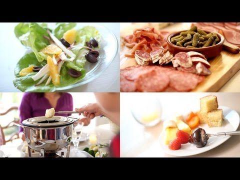 Beth S Fondue Party Recipes In The Video Description Fondue