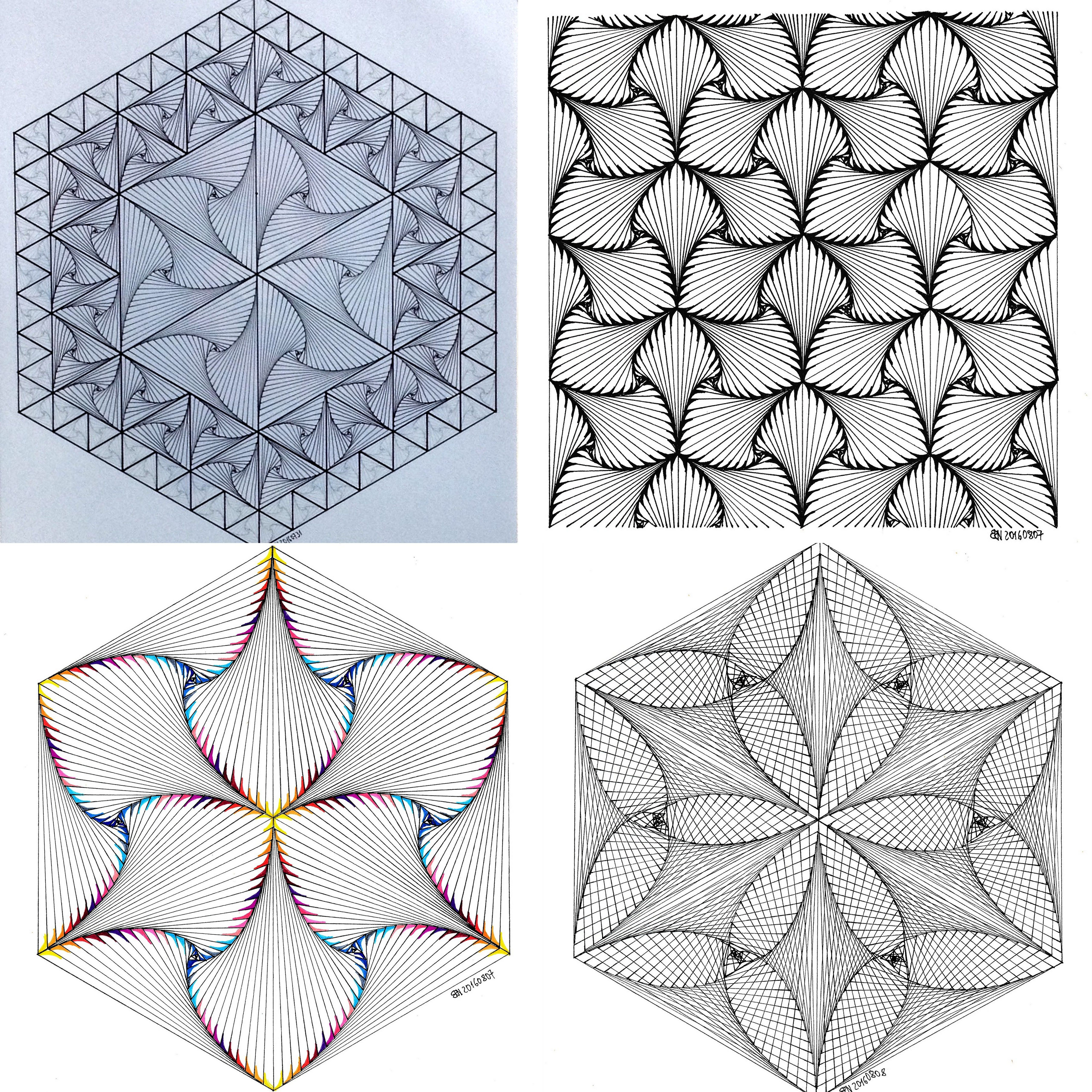 Geometry symmetry pattern isometric tessellation tiling geometry symmetry pattern isometric tessellation tiling fractal handmade dailygadgetfo Image collections