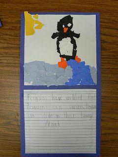 Mrs. T's First Grade Class: Penguin Art