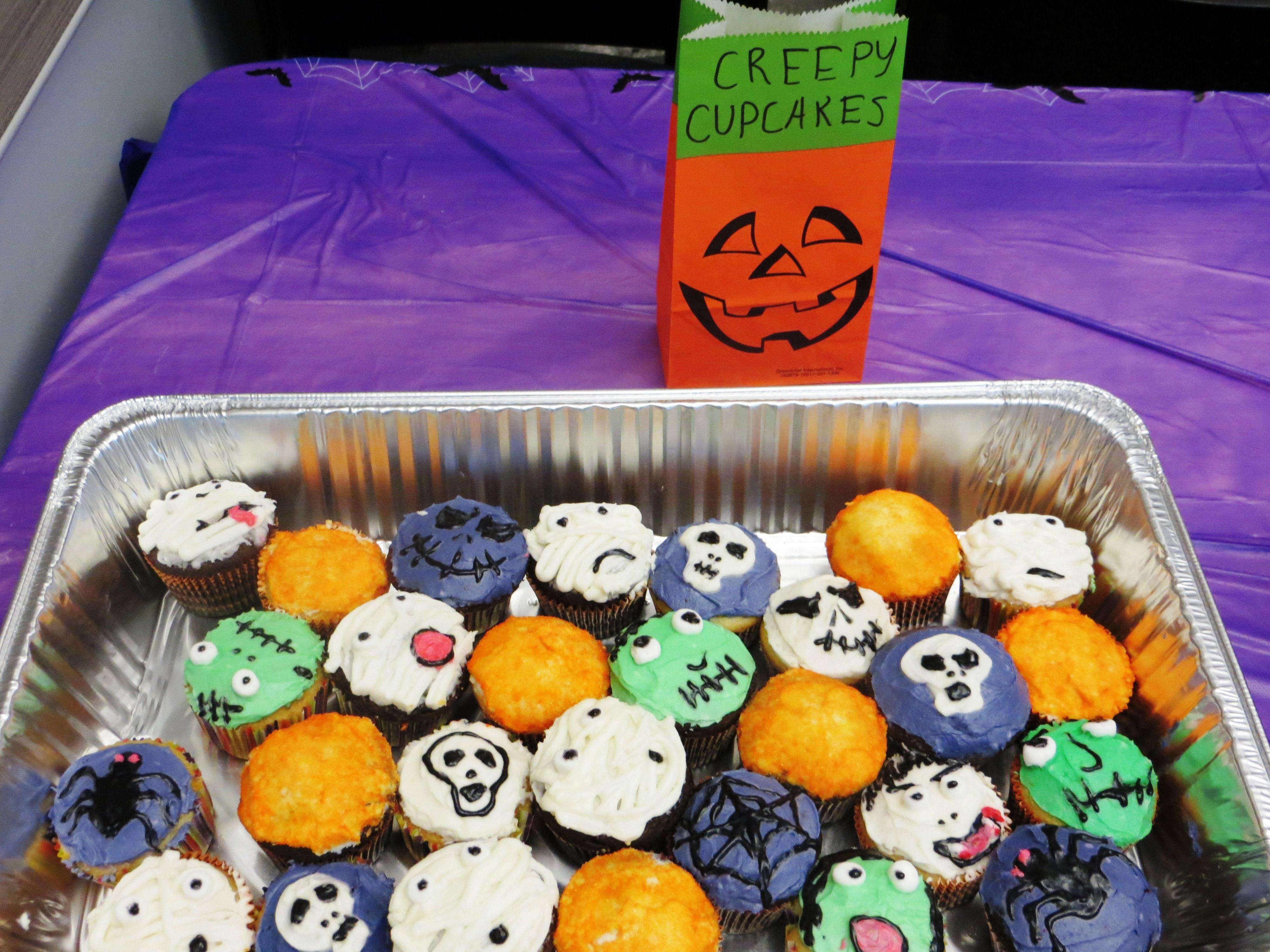 Creepy Cupcakes!