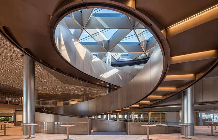 Gorgeous Bloombergs HQ in London by Foster + Partners