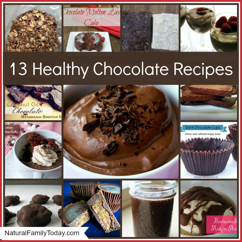 13 healthy chocolate recipes @Village Green Network #paleo ...