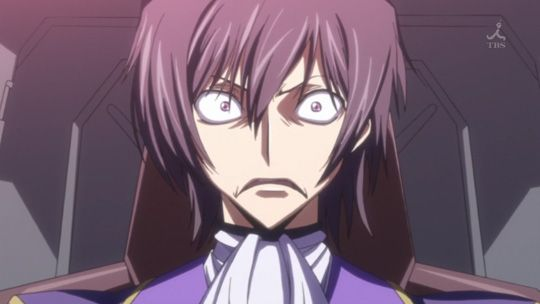 code geass | Unfortunately for Lelouch, things aren't going exactly as planned .