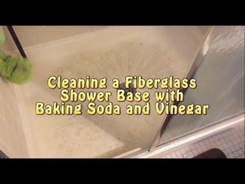 How To Clean Textured Fibergl Or Plastic Shower Floor