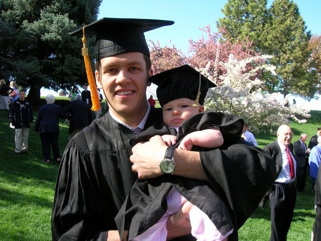 Family Ever After....: baby graduation cap and gown directions ...
