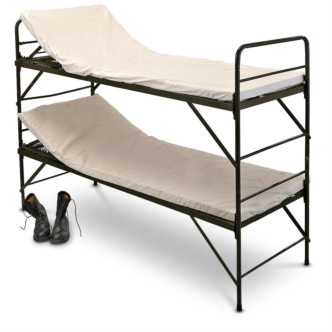 Sportsmans Guide Has Your 4 New German Military Hospital Bunk Beds Available At A Great Price In Our Cots Collection
