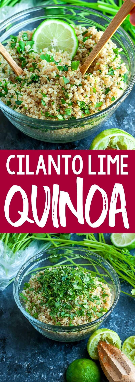 Photo of Cilantro Lime Quinoa Recipe – Vegetarian and Gluten-Free