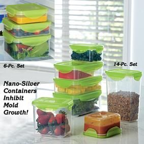 Nano Silver Food Storage Containers Fresh Finds Products I Love