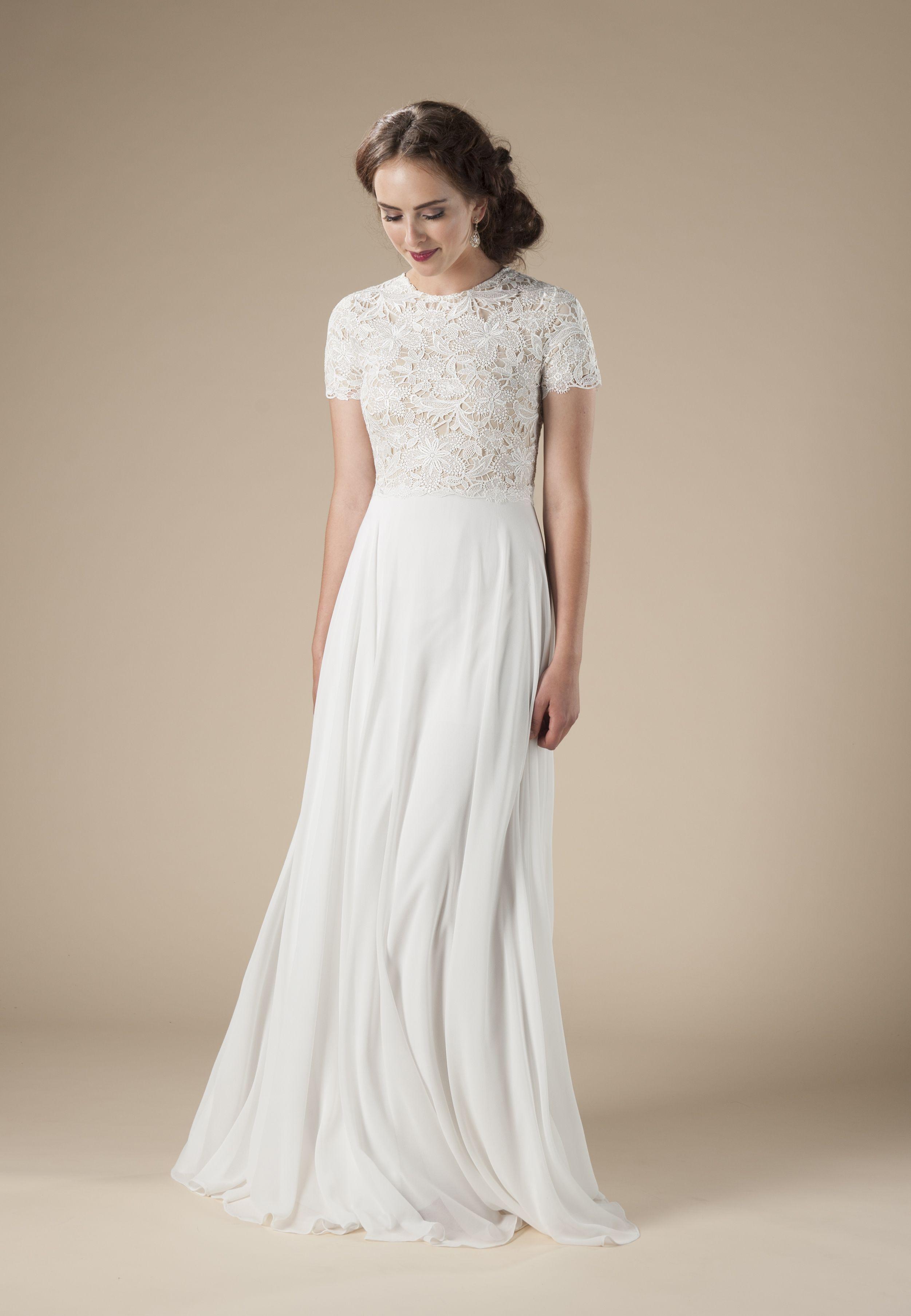 2018 Modest Wedding Dress Trends Modest wedding dresses