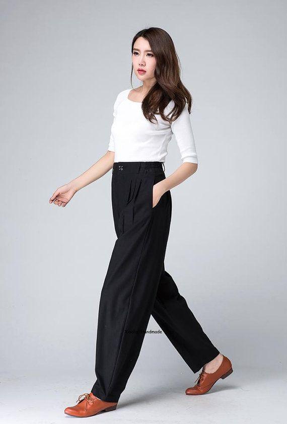 С чем носить льняные брюки. Стиль и удобство в одной вещи (48 фото) | 842x570