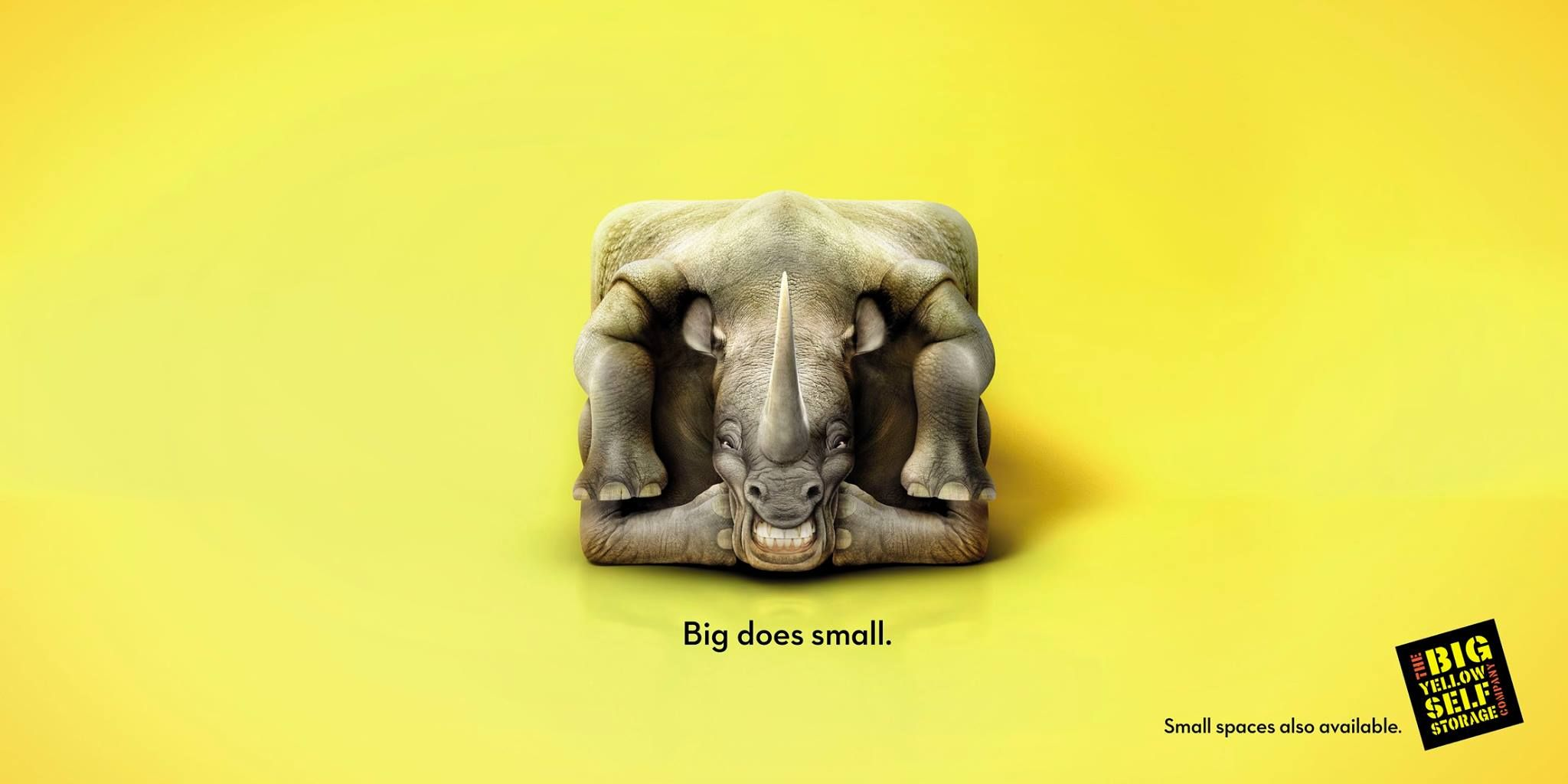 Adeevee - Big Yellow Self Storage: Rhino, Giraffe, Sumo