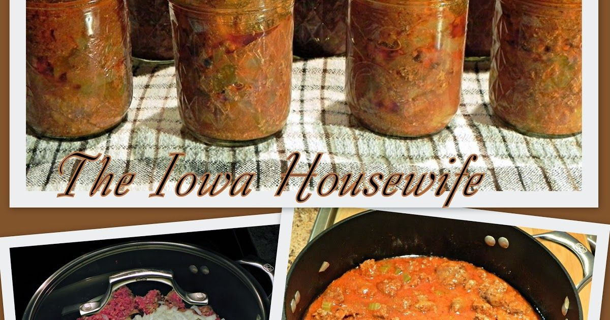 Canning or Freezing Ground Beef...Home Canned or Frozen