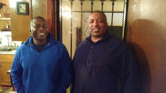 my uncle and cuz