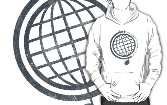 """Music Makes the World Go Round"" Pullover Hoodie"