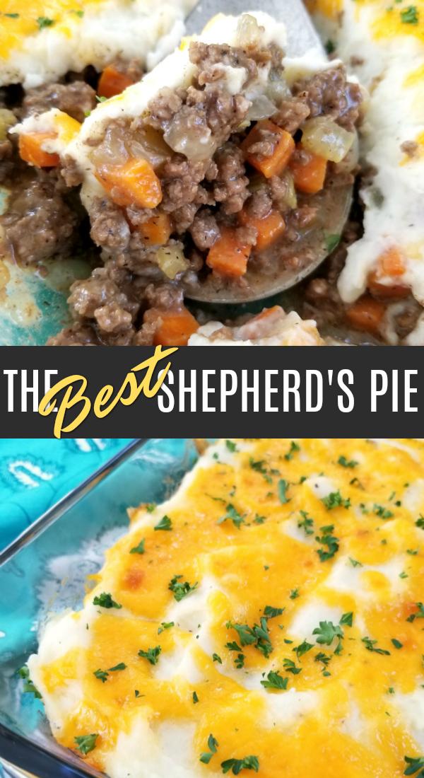 The BEST Shepherd's Pie | Recipe in 2020 | Food recipes ...