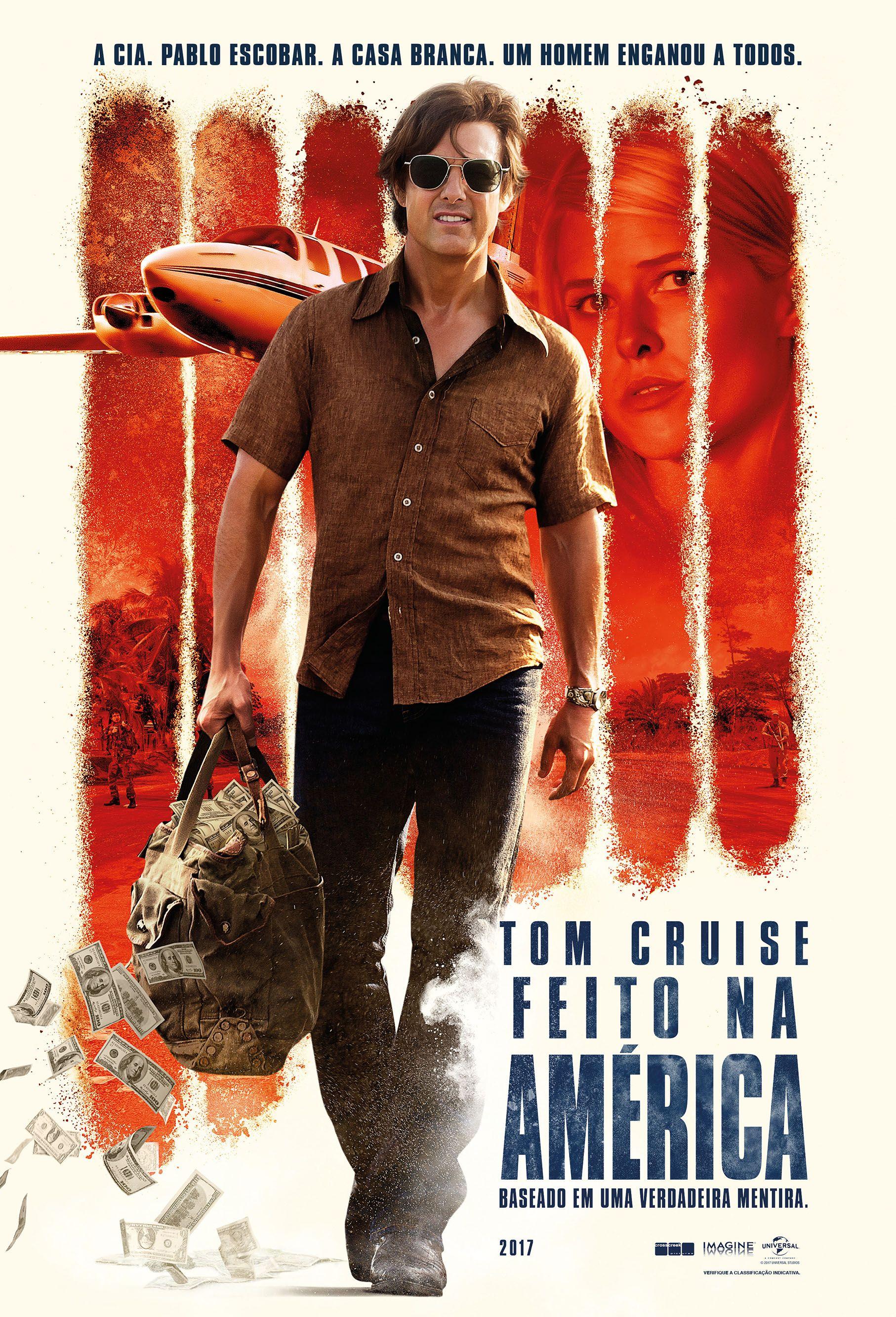 Cartaz de Feito na América, 31 de Agosto nos cinemas