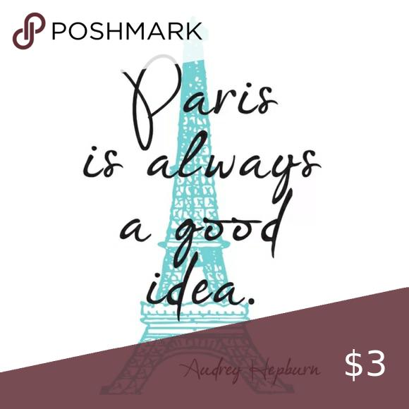 Paris French Themed Merchandise