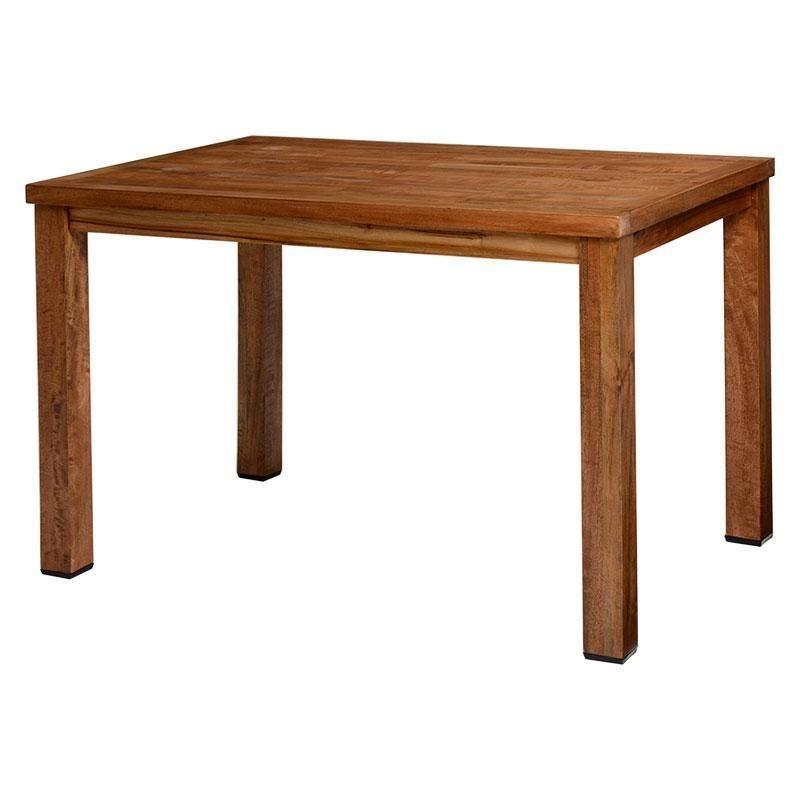 Photo of 木目の質感もスマンゴーの木ダイニングテーブルMARKAS