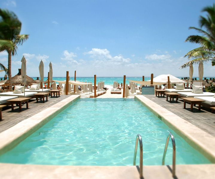 Kool Beach Club Playa Del Carmen Mexico
