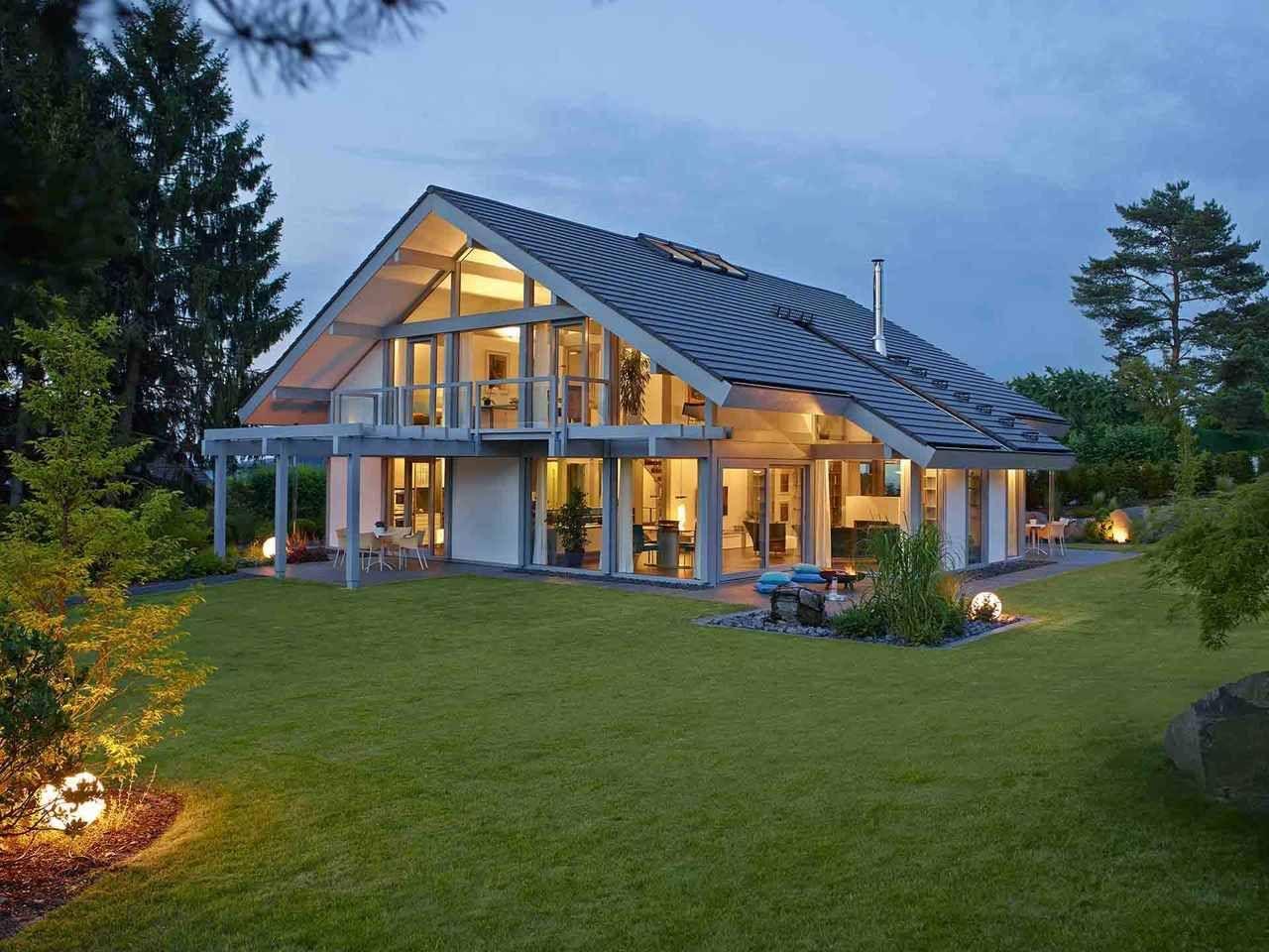 Davinci Haus Mh Gebhardshain 3 Style At Home Architektur Kniestock