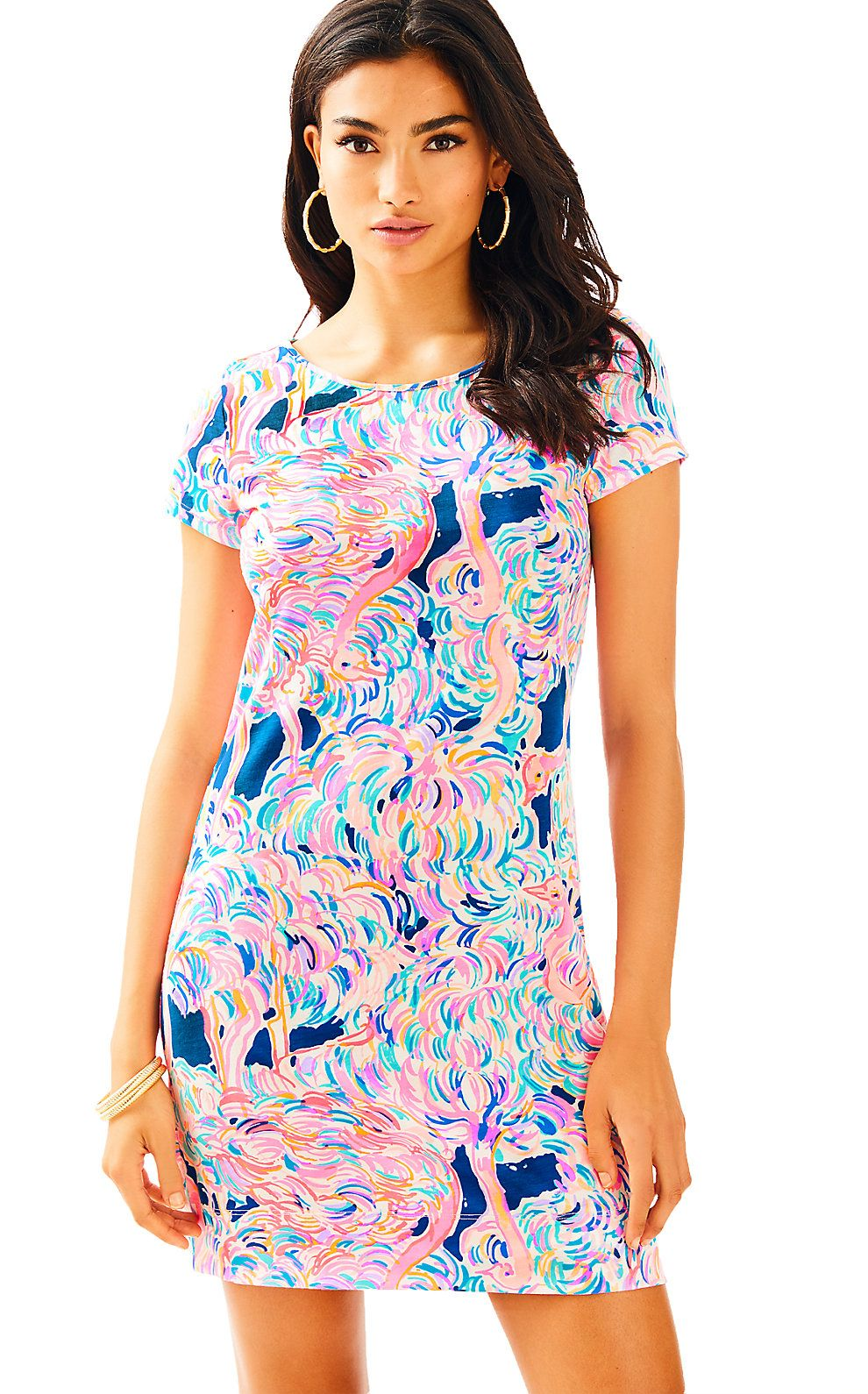 7988ad885357a5 LILLY PULITZER SHORT SLEEVE MARLOWE DRESS. #lillypulitzer #cloth ...
