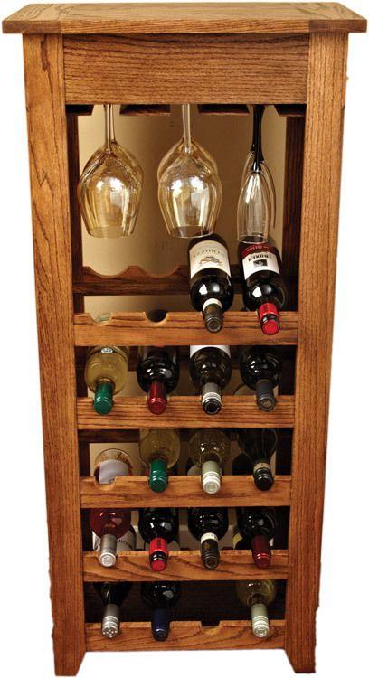 Estanter a de vino ideas pinterest cavas de madera - Estanterias para vino ...