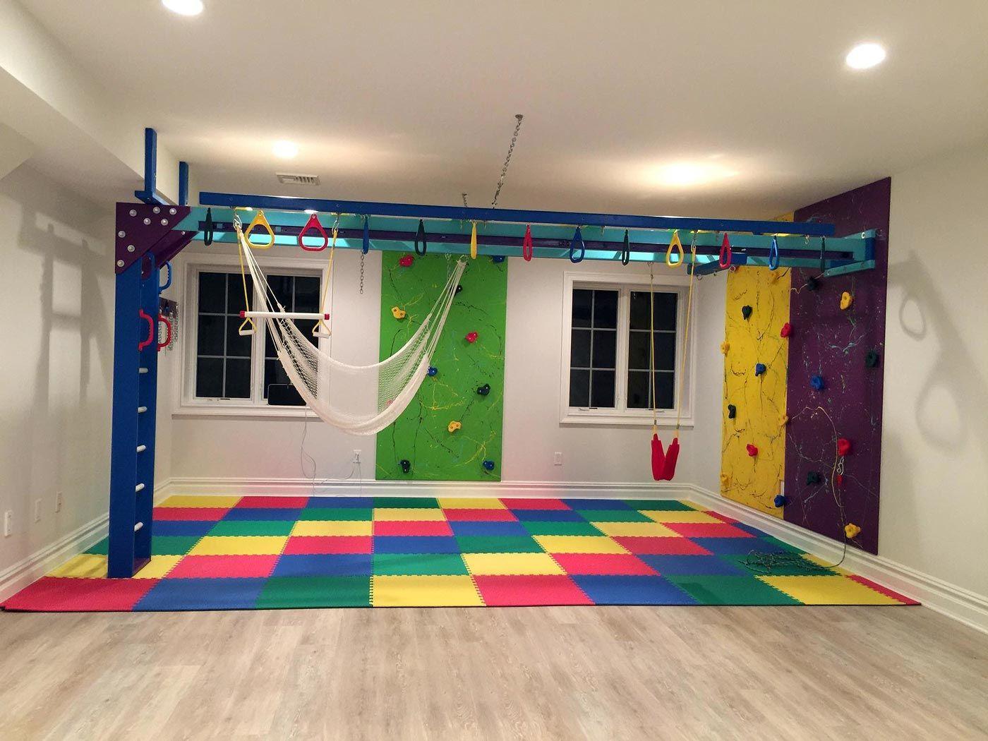 Basement In New Jersey Kids Basement Basement Playroom Indoor