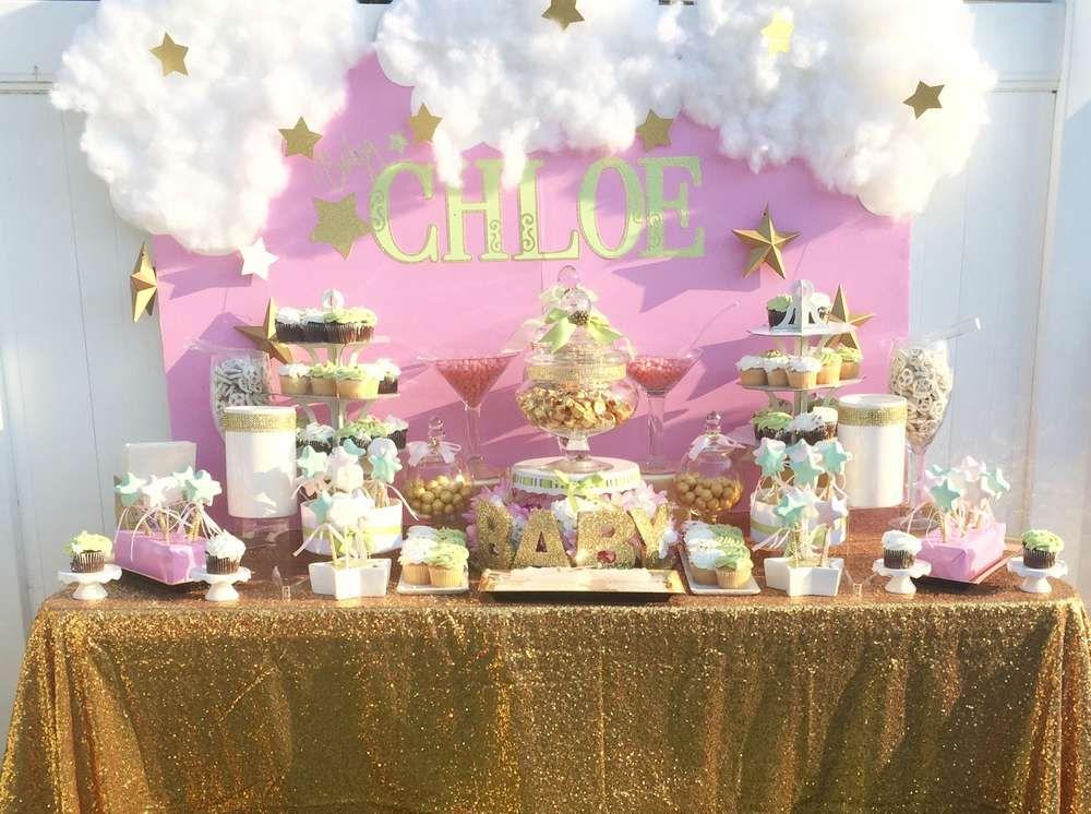 Twinkle Twinkle Little Star Baby Shower Party Ideas Backdrop Ideas