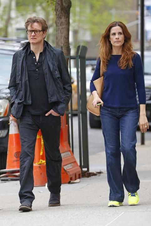 Colin Firth Livia Giuggioli Colin Flirth Pinterest