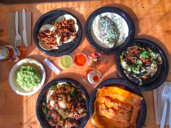 Compass + Twine   La Super-Rica is a Santa Barbara locals landmark and you can watch them press fresh tortillas while you wait in line (and you WILL have to wait in line). Simple, authentic Mexican --- there's a reason it was Julia Childs' favorite.