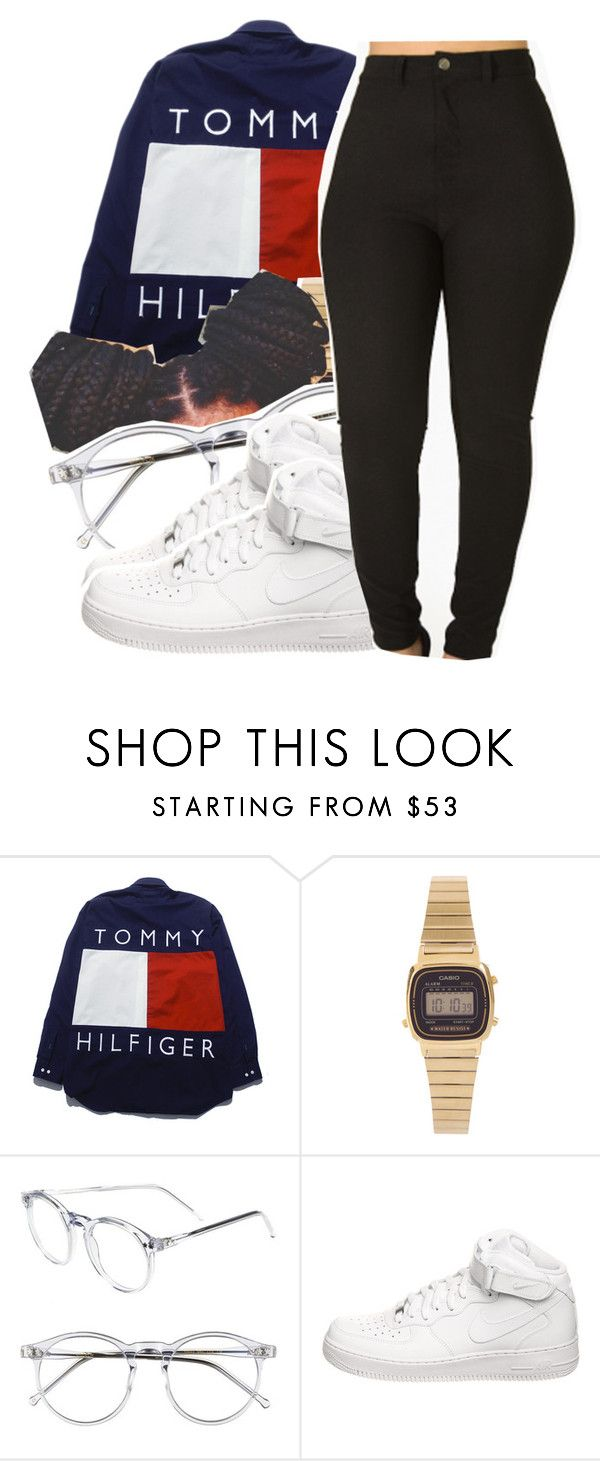 """1144"" by ashley-mundoe ❤ liked on Polyvore featuring Casio, Wildfox and NIKE"