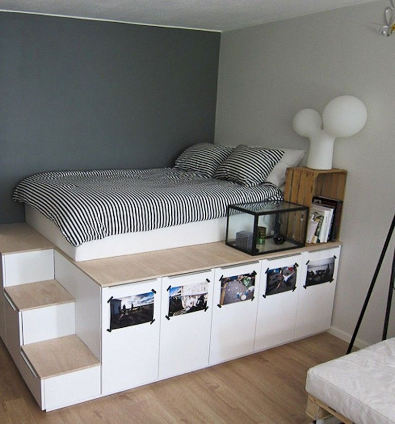 55+ Comfortable Minimalist Bedroom Decor Ideas Small Rooms