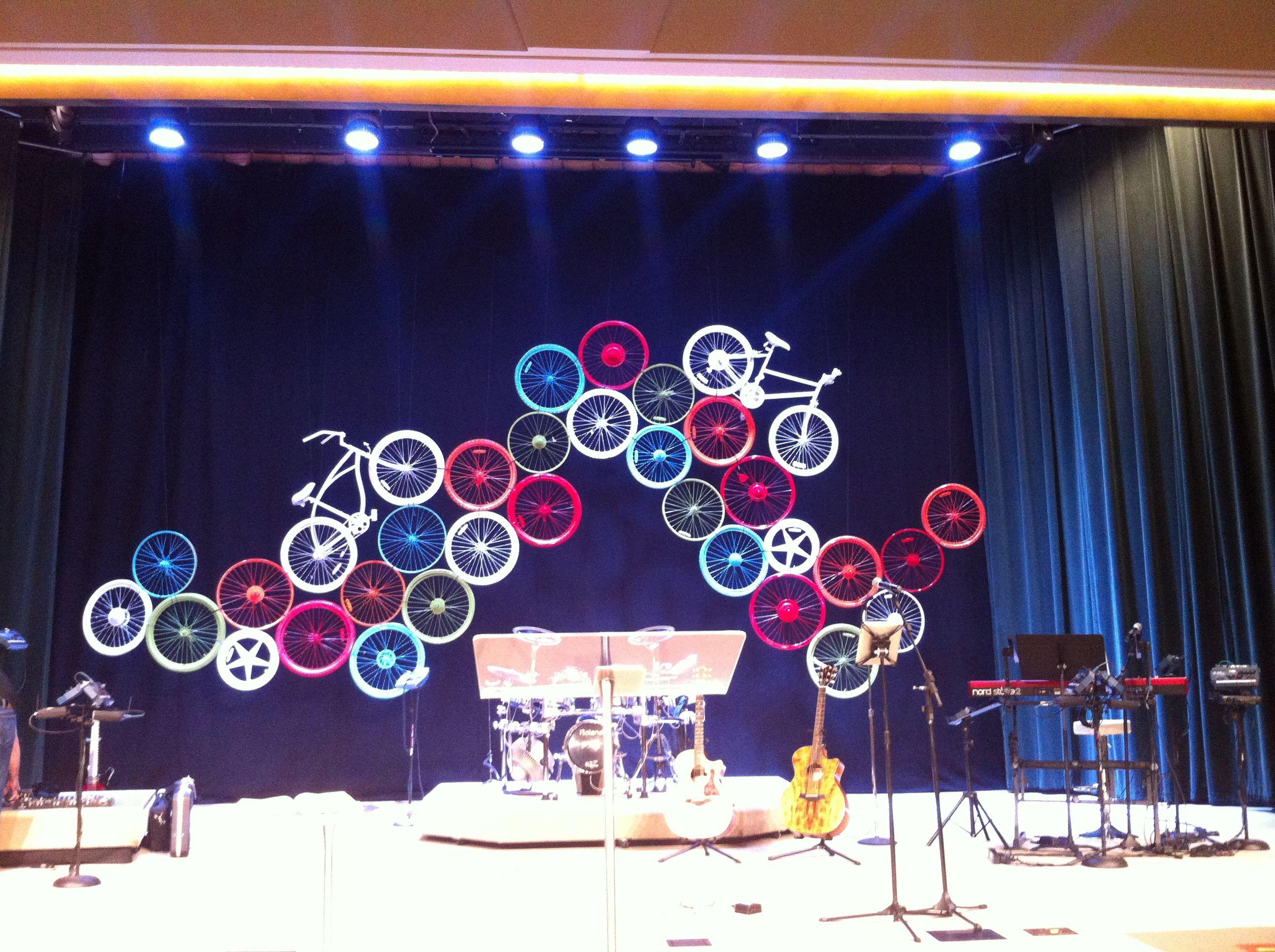Wheeling rom Assembly Christian Center in New Iberia LA